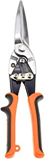 """Finder 12"""" Aviation Snips, Long Straight Cut Tin Snips Cutting Shears Power Cutter with CR-V Blade & Comfortable Grip, 300..."""