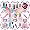 FoxPrint My First Princess Make Up Kit - 12 Pc Kids Makeup Set Washable Makeup For Girls These Makeup Toys for Girls Include All Your Princess Needs To Play Dress Up Comes with Stylish Bag #2
