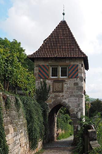 Esslingen Tower Germany Journal: 150 Page Lined Notebook/Diary