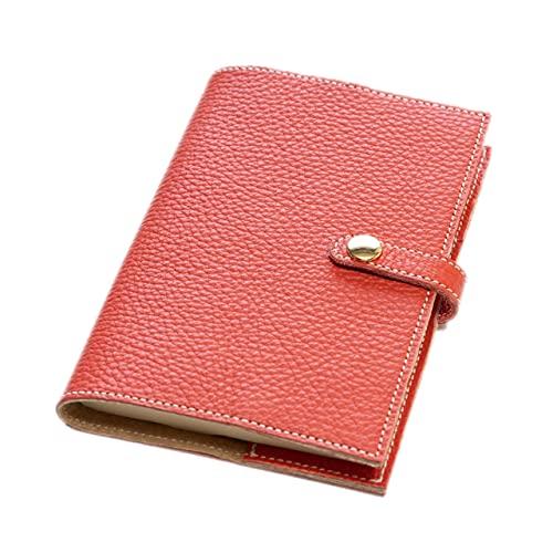 maf pinto (マフ ピント) 手帳カバー&ブックカバー レザー 本革 日本製 (56.フレッシュレッド, A6サイズ (文庫サイズ) ADRIA LINE)