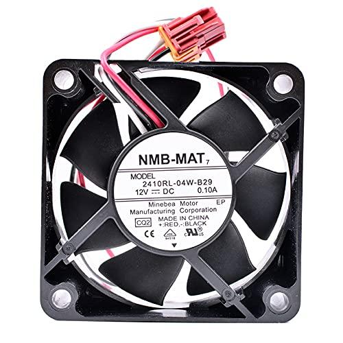 NMB 2410RL-04W-B29 12V 0.12A for Panasonic drum washing machine cooling fan