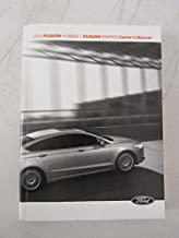 2014 Ford Fusion Hybrid Owner's Manual Guide Book