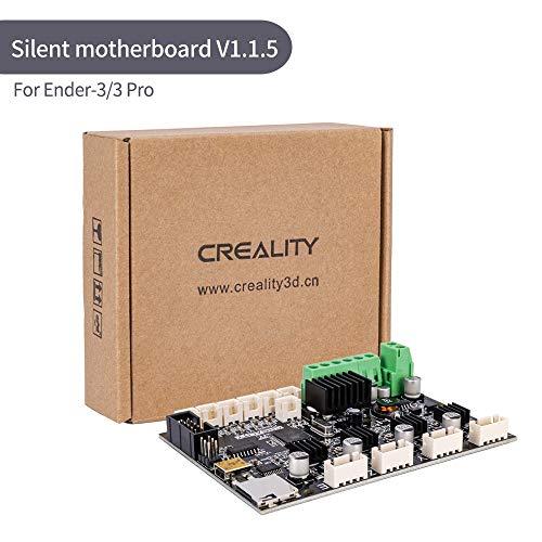 Placa base V1.1.5 para impresora 3D, placa base de 24 V ultra silenciosa con controlador TMC2208 para Ender-3 / Ender-3 Pro