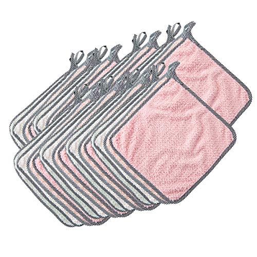 ZSYQBFF Paños de Limpieza Paños y toallitas para mopas Bayeta Microfibre Ultrafresh, Magic Cleaning - Paños de Microfibra, Paños de Cocina, Ecológico Toallas de Cocina,30pack