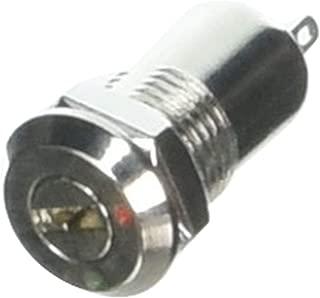 GeaDrax AC 250V 2 Amp 2 Terminals Ein Aus Tubular Key Lock-Schalter