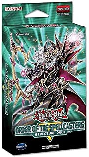Yu-Gi-Oh! Cards Order of The Spellcasters Structure Deck + 3 Super Rares + 2 Ultra Rares