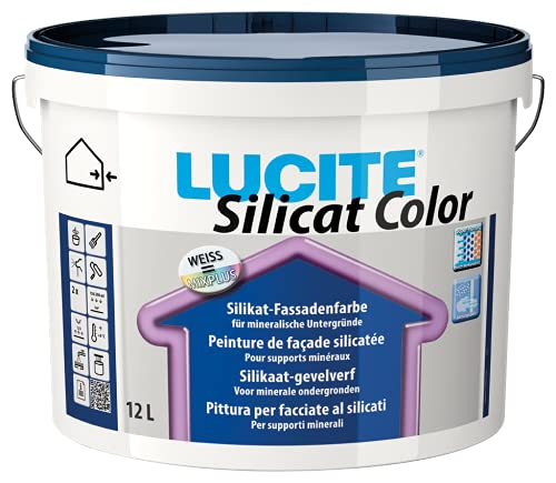 Lucite Silicat Color 12 Liter weiß