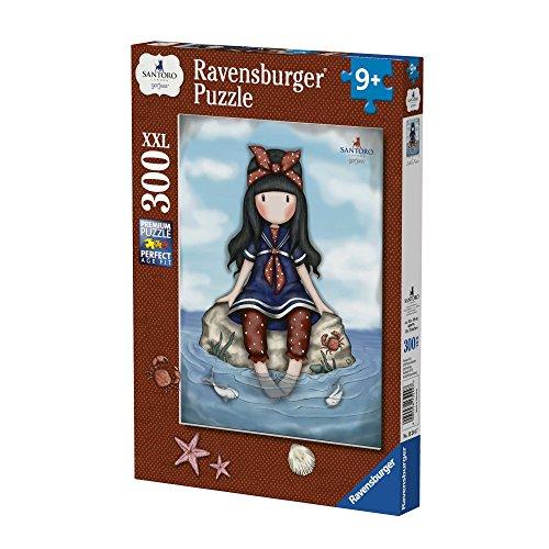 Ravensburger–Puzzle Little Fishes Gorjuss 300Piezas, 13244