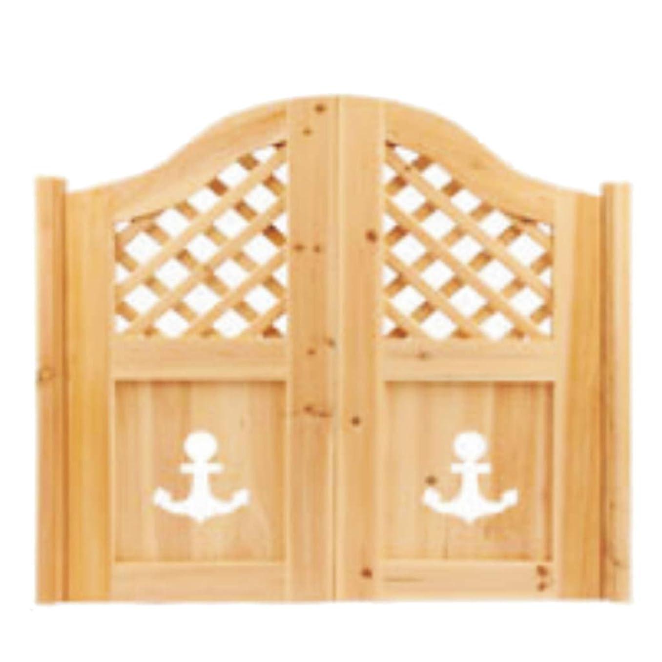 博覧会許可のぞき見未完成のスウィングカフェドア、サルーンドアガーデンパーティションポーチ、バーレストランキッチン戸口使用木製塗装なし-カスタマイズ可能