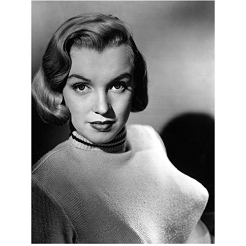 Marilyn Monroe Head Shot Looking Serious with Soft Smile 8 x 10 Inch Photo