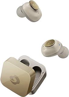 GLIDiC Sound Air TW-5000s(TW-5000後継機) 完全ワイヤレスイヤホン 外音取込機能 両耳通話機能 Bluetooth対応 / マイク搭載 / 充電ケース付 / 自動ON/OFF シャンパンゴールド 【日本正規代理店...
