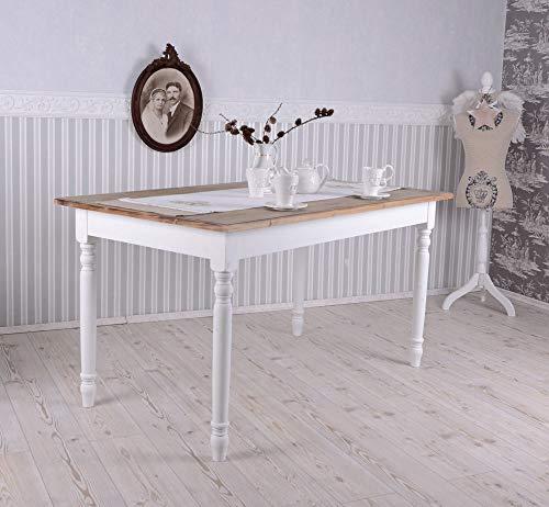 Großer Esstisch Vintage Holz Küchentisch Shabby chic Villa Rustica HMA12 Palazzo Exklusiv