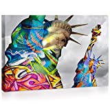 Home2Gallery Graffiti Wall Art Canvas for Living Room, Bedroom, Office Ready to Hang (16' x 24')