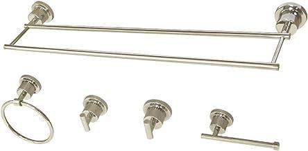 Kingston Brass BAH821330478PN Concord 5-Piece Bathroom Accessory Set Polished Nickel