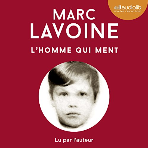 L'homme qui ment audiobook cover art