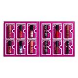 NYX PROFESSIONAL MAKEUP Gift Set, Diamonds & Ice 12 Day Lipstick Countdown Advent Calendar