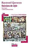 Exercices de style - Gallimard - 11/10/2007