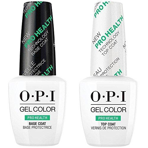 OPI GELCOLOR ProHealth Base & Top Coat Duo [15ml] pour Vernis gels semi-permanents