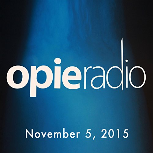 Opie and Jimmy, Ron Bennington, Elvis Costello, and Rob Dukes, November 5, 2015 audiobook cover art