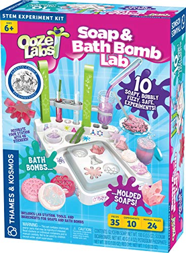 (39% OFF Deal) Soap|Bath Bomb Lab Kit – 10 experiments $18.19