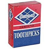 Diamond, Round Toothpicks, Count 1 - Household Accessories / Grab Varieties & Flavors
