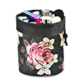 Makeup Display Organizer with Drawer No Drilling Wall Mounted Toiletry Cosmetic Jewelry Storage Case for Bathroom Dresser Vanity Save Space