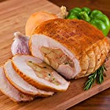 Turducken Roll Stuffed with Louisiana Creole Pork Sausage. Each 4lb Turducken, a dish so tasty,...