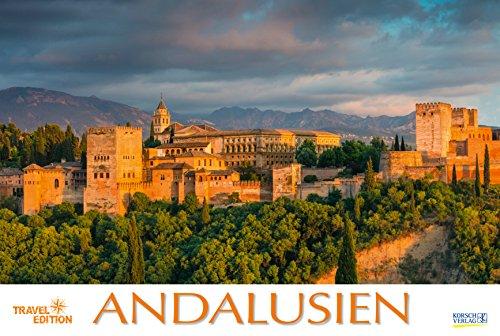 Andalusien 211919 2019: Großer Foto-Wandkalender-der Süden von Spanien. Travel Edition mit Jahres-Wandplaner. Panorama Querformat: 58x39 cm.