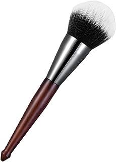 BBL Luxury Powder Makeup Brush, Premium Synthetic Cosmetic Tool, Blending Bronzer Concealer Buffing Contouring Natural Dense Bristles Professional Face Brush (Gray)
