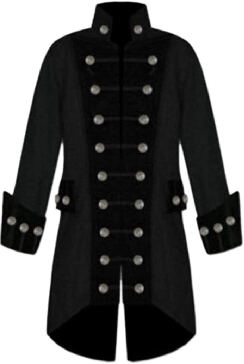 14573cb3e4f4 Pujingge-CA Pujingge-CA Pujingge-CA Mens Gothic Double Breasted Steampunk  Victorian Frock Coats 04475c