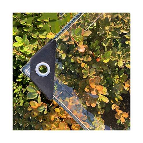 LXHONG Lona De PVC De 0,3 Mm De Espesor,Lonas De PVC Resistentes, Paño De Protección Solar para Balcón Al Aire Libre 420GMS, Personalizable (Color : Claro, Size : 2x3m)