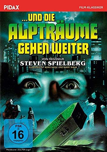 ... und die Alpträume gehen weiter / Gruseliger Horrorfilm mir 3 Gruselgeschichten von Steven Spielberg und Rod Serling (Twilight Zone) (Pidax Film-Klassiker)