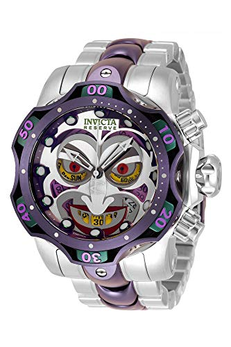 Invicta DC Comics - Joker 33810 viola Orologio Uomo - 52.5mm