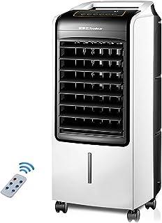 Liten avdunstningsluftkylare med fjärrkontroll, tyst bärbar luftkonditionering, luftkylare fläkt med 3 hastigheter och pro...