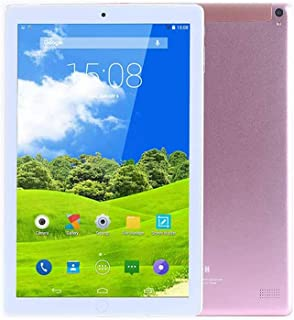 Atouch A102 Tablet 10.1 Inch, Dual Sim, 64GB Storage, 4GB RAM, WiFi, 4G Network, Android Tablet(Rose Gold)
