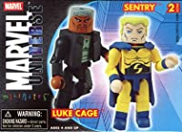 Marvel Mini-Mates Series 12 Luke Cage and Sentry Variant