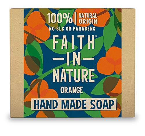 Faith in Nature Savon Main Naturel Orange,...