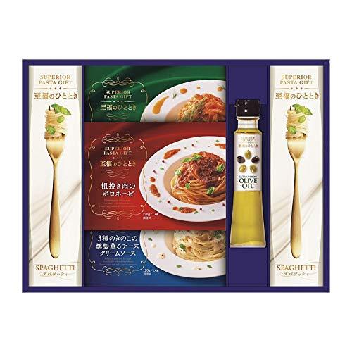 昭和 至福のひとときパスタセット SP-30 【乾麺 イタリアン レトルト パスタソース ギフト セット ギフトセット 詰め合わせ】