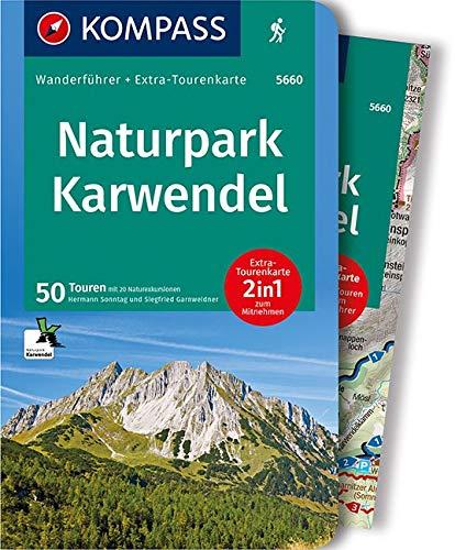 KOMPASS Wanderführer Naturpark Karwendel: Wanderführer mit Extra-Tourenkarte 1:35.000, 50 Touren, GPX-Daten zum Download.