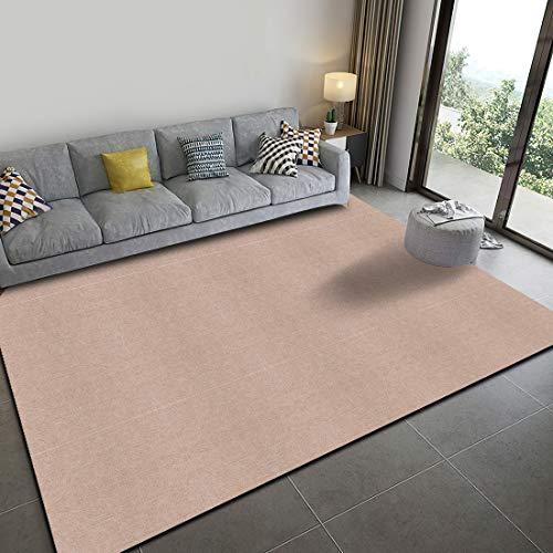 Tiles Carpet Joint Mat, Tile Mat, Chair Mat, Non-Slip, Soundproofing, Washable, Carpet, For Pets, Punch Carpet, Floor Protection Mat, 11.8 x 11.8 inches (30 x 30 cm) (Camel White, 20 Pieces)