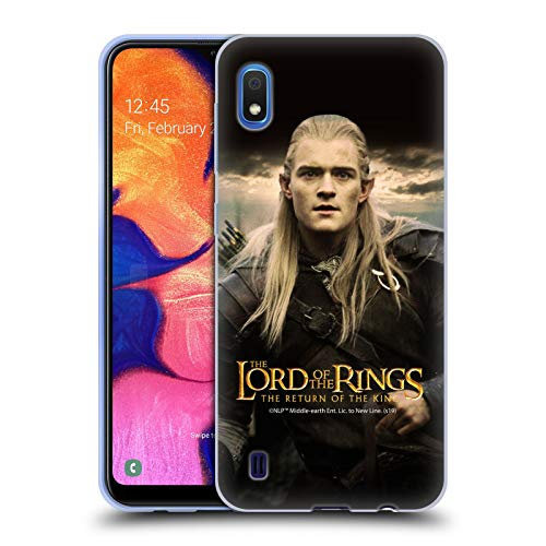 Head Case Designs Licenza Ufficiale The Lord of The Rings: The Return of The King Legolas Posters Cover in Morbido Gel Compatibile con Samsung Galaxy A10 (2019)