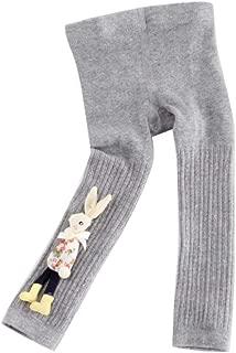 Weixinbuy Toddler Baby Girl's Cartoon Pattern Soft Fabric Footless Stocking Pants Leggings Trousers Bottoms
