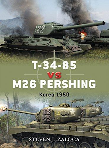 T-34-85 vs M26 Pershing: Korea 1950 (Duel, Band 32)