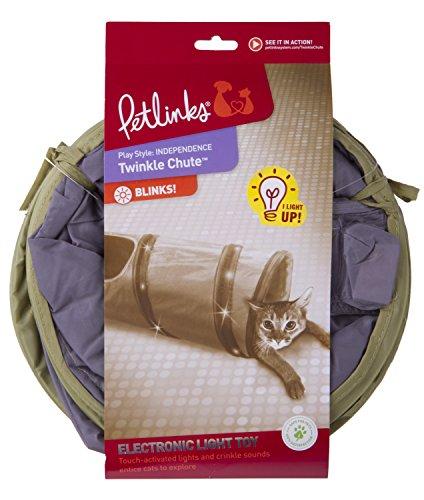 Petlinks System Twinkle Chute Cat Tunnel, 33