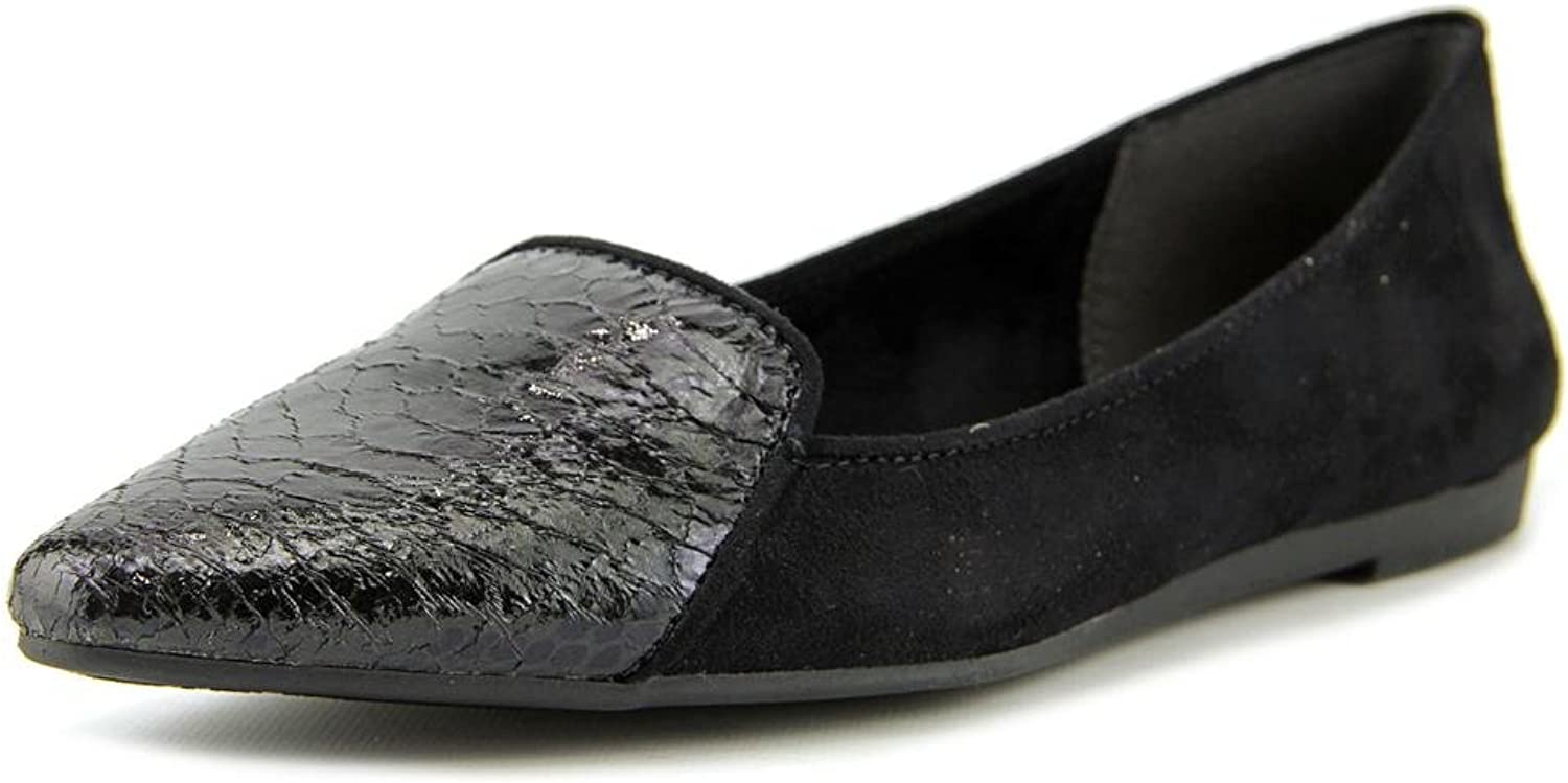 Style & Co... Womens DESYA Pointed Toe Slide Flats, Black, Size 8.5