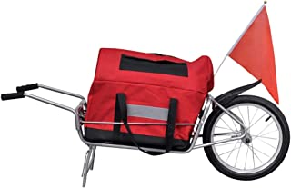 comprar comparacion vidaXL Remolque de Bicicleta con Bolsa de Almacenamiento - una Rueda
