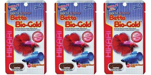HIKARI Betta Bio Gold 5g *Pack of Three* for Siamese Fighters BUNDLE