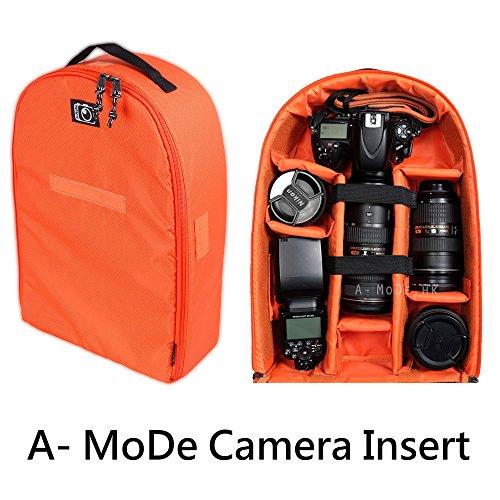 Kamera Einsatz Wasserdicht Stoßfest Partition Gepolsterte Tasche Tasche Rucksack für Nikon Canon DSLR SLR Lens Schutz Case IN02X