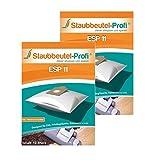 20 Staubsaugerbeutel ESP11 von Staubbeutel-Profi® kompatibel zu Swirl EIO80, Swirl EIO 80