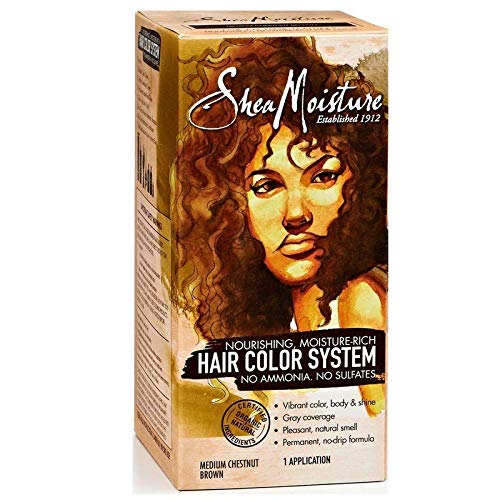 Shea Moisture Nourishing, Moisture-Rich Hair Color System - Medium Chesnut Brown by Shea Moisture